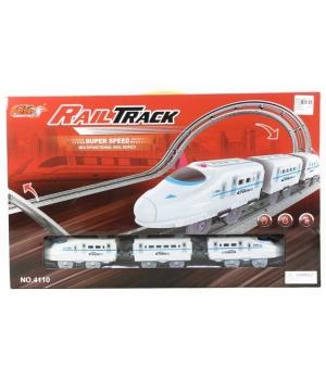"Трек железная дорога ""Rail Track"", с крутыми поворотами"