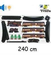 """Детская игрушка Железная дорога Essa """"Пассажирский паровоз"""" (1601A-3B)"""