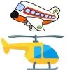 Вертолеты, самолеты, наборы