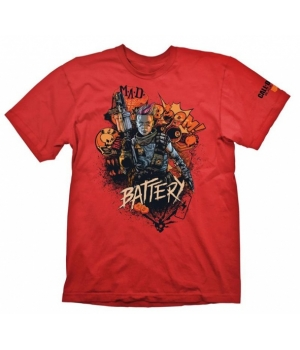"Gaya Футболка COD ""Black Ops 4 T-Shirt Battery Red"" [GE6301XL]"