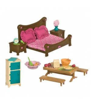 Li`l Woodzeez Ігровий набір - Спальня і їдальня