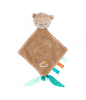 Игрушка комфортер для новорожденных, Медвежонок, Nattou Doodoo