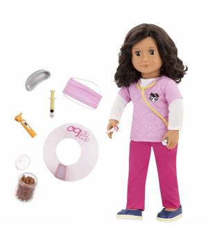 Большая детская кукла врач Палома, 46 см, Our Generation