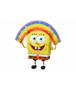 Sponge Bob Ігрова фігурка Masterpiece Memes Collection - Rainbow SB