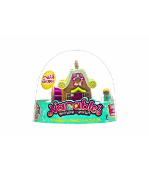 """Nanables Ігрова фігурка Small House Містечко солодощів, Крамниця """"Печиво з молоком"""""""