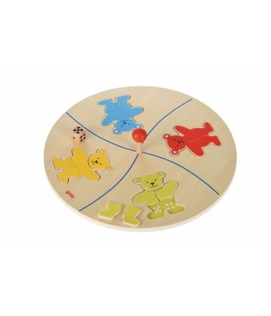 Настольная игра для детского сада Веселые медвежата goki, от 4 лет