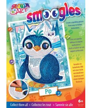 Аппликация пайетками набор для детского творчества Пингвин Sequin Art