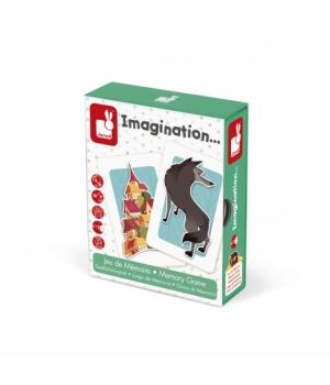 Настольная игра для детей Мемо Воображение Janod