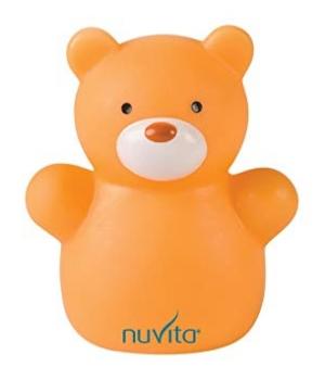 Миниатюрный детский ночник Медвежонок, Nuvita