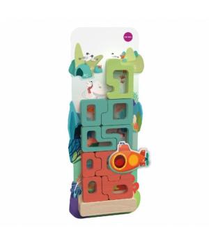 Настенная игрушка Veritiplay Пазл Загадочный аквариум, Oribel