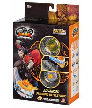 Инфинити надо Огненный Молот V серия, с магнитной запускалкой, Infinity Nado Advanced Edition Fire Hammer, Auldey