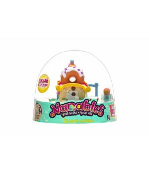 """Nanables Ігрова фігурка Small House Містечко солодощів, Їдальня """"Пончик"""""""
