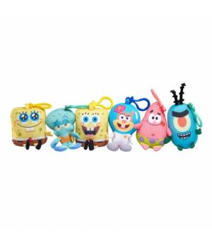 Sponge Bob іграшка-брелок Mini Key Plush SpongeBob в асорт.