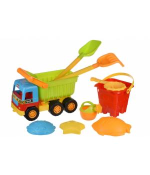 Набор для песочницы - Машинка Самосвал 36 см, Same Toy