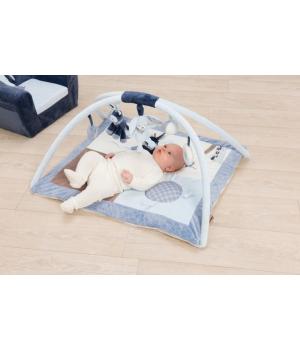 Коврик развивающий для новорожденных с дугами, Alex & Bibu, Nattou