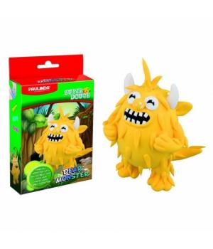 Детская масса для лепки  Super Dough Dear Monster желтый, PAULINDA