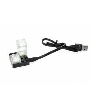 Набор светящихся элементов для конструкторов Lego + аналог, LIGHT STAX