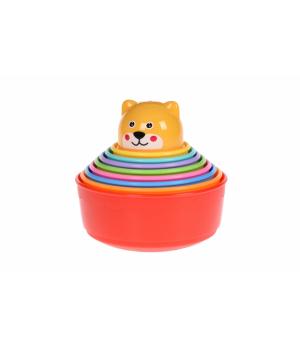 Игрушки в песочницу пасочки - Чашки, 9 шт, Same Toy