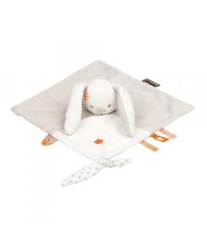 Игрушка платочек-комфортер, Кролик, Nattou
