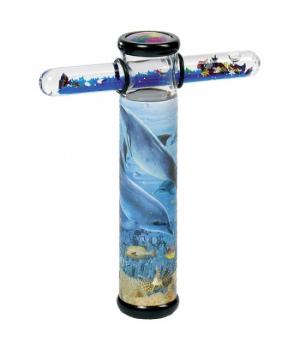 Калейдоскоп игрушка магический - Дельфин, goki