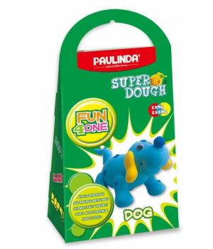 Детская масса для лепки Super Dough Fun4one Собака (подвижные глазки), PAULINDA