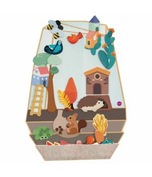 Настенная игрушка Veritiplay Волшебный сад, Oribel