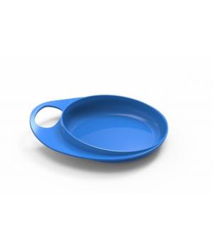 Nuvita Тарілка для годування Easy Eating (Пласка 2шт.) [NV8451Blue]