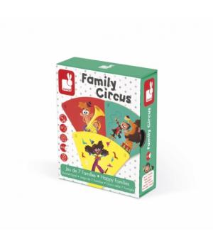 Настольная игра в детский сад Цирк Janod Happy Families, от 4 лет