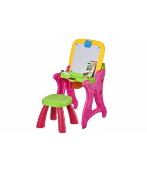 Same Toy Столик-мольберт (рожевий)