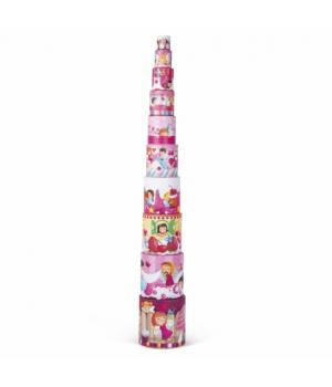 Детская игрушка пирамидка, Деликатесы, Janod