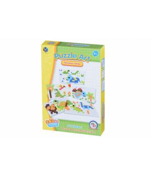 Мозаика детская Динозавры 243 эл, Same Toy