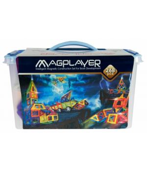 Магнитный конструктор большой набор, 268 шт, MagPlayer