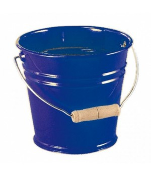 Детское ведро металлическое 15 см, (синий), NIC