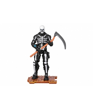 Игрушечная фигурка Fortnite - Фортнайт Solo Mode Скелет - Skull Trooper, 10 см.
