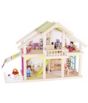goki Ляльковий будиночок 2 поверхи з внутрішнім двориком, Susibelle