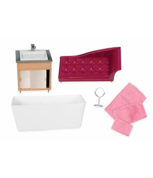 LORI Набір для ляльок - Меблі для ванної