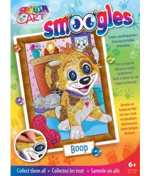 Картина из пайеток для детей набор для детского творчества Щенок Sequin Art