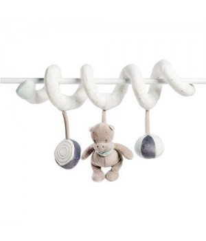 Игрушка на кроватку, подвеска спираль, Nattou