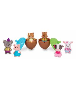 Li`l Woodzeez Іграшка Bobblehead (6 од.) Серія 3