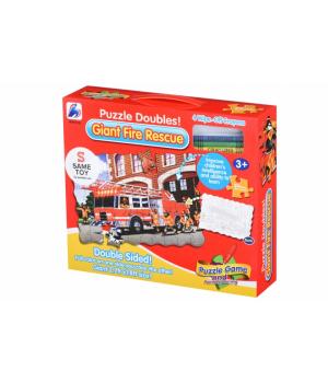 Same Toy Пазл-розмальовка Пожежна машина
