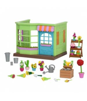 Li`l Woodzeez Ігровий набір - Квітковий магазин (маленький)