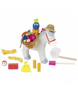 Балансир игрушка для детей, Ослик, goki