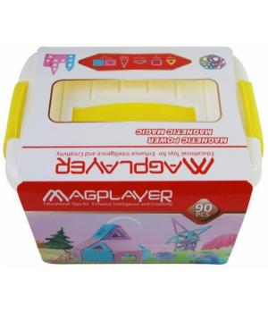 MagPlayer Конструктор магнітний набір бокс 90 ел. (MPT2-90)
