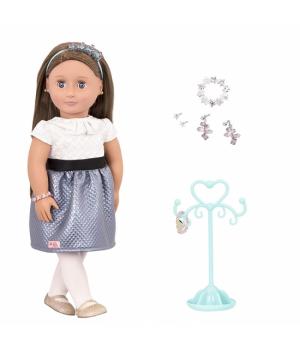 Our Generation Лялька (46 см) Аліана з прикрасами