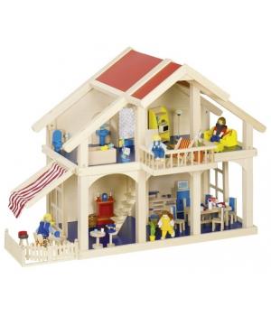 goki Ляльковий будиночок 2 поверхи з внутрішнім двориком