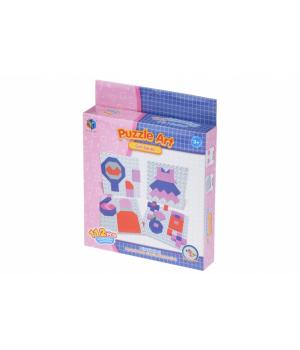 Мозаика детская для девочки Girl series (112 эл.) Same Toy