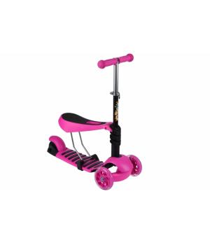 Same Toy Трьохколісний самокат-біговел з сидінням [SY-S171Ut-3]