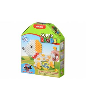 Аквамозаика для детей, мозаика брызгать водой Собачка, Super Beads (200 деталей) , PAULINDA