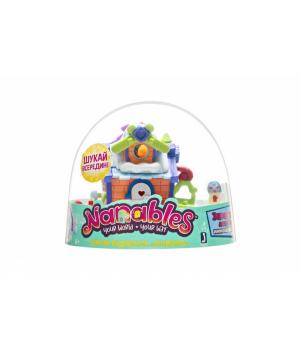 """Nanables Ігрова фігурка Small House Зимовий дивосвіт, Лижний будиночок """"Схованка"""""""