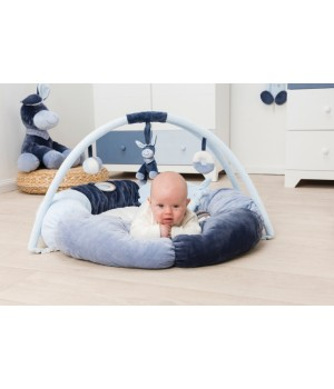 Развивающий игровой коврик для новорожденных, с дугами, Nattou